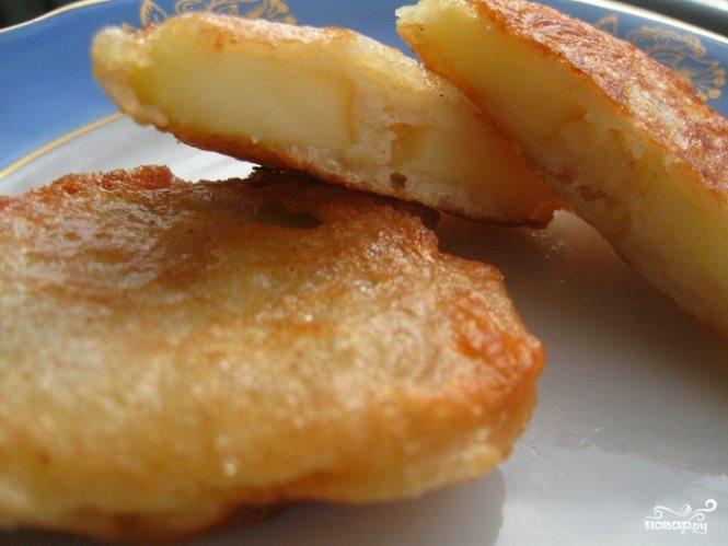 яблоки в кляре рецепт с фото