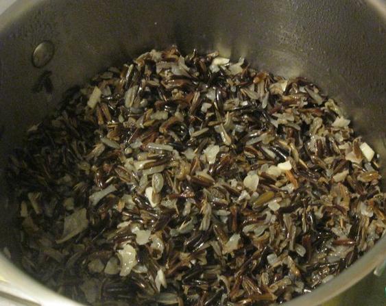 Рецепт Рис, запеченный в тыкве