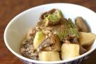 Грибы шиитаке с картошкой