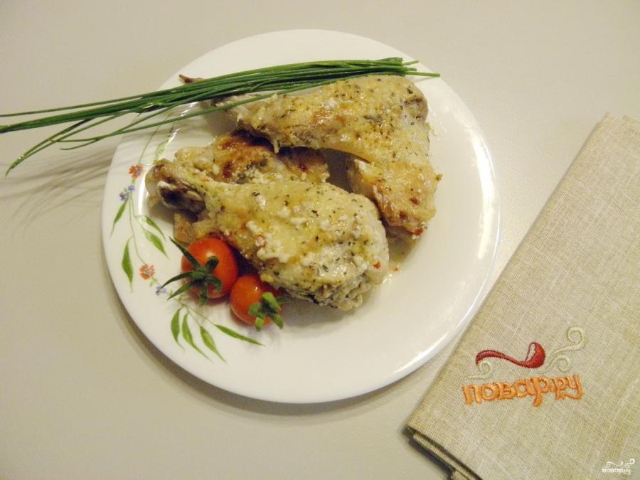 курица с овощами в соусе в духовке рецепт