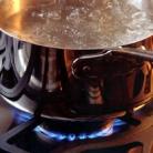 Рецепт Черничная крем-сода