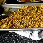 Рецепт Салат из помидоров с сухариками