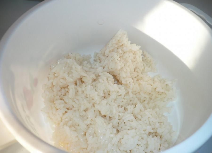Рецепт Салат с рисом и курицей
