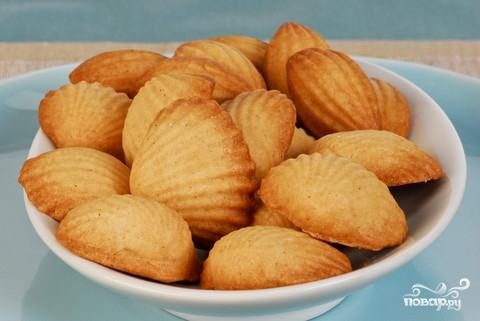 Печенье в виде ракушек