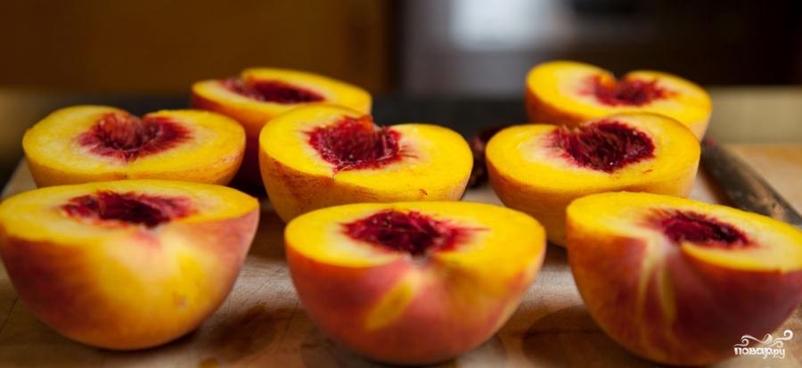 Рецепт Запеченные персики