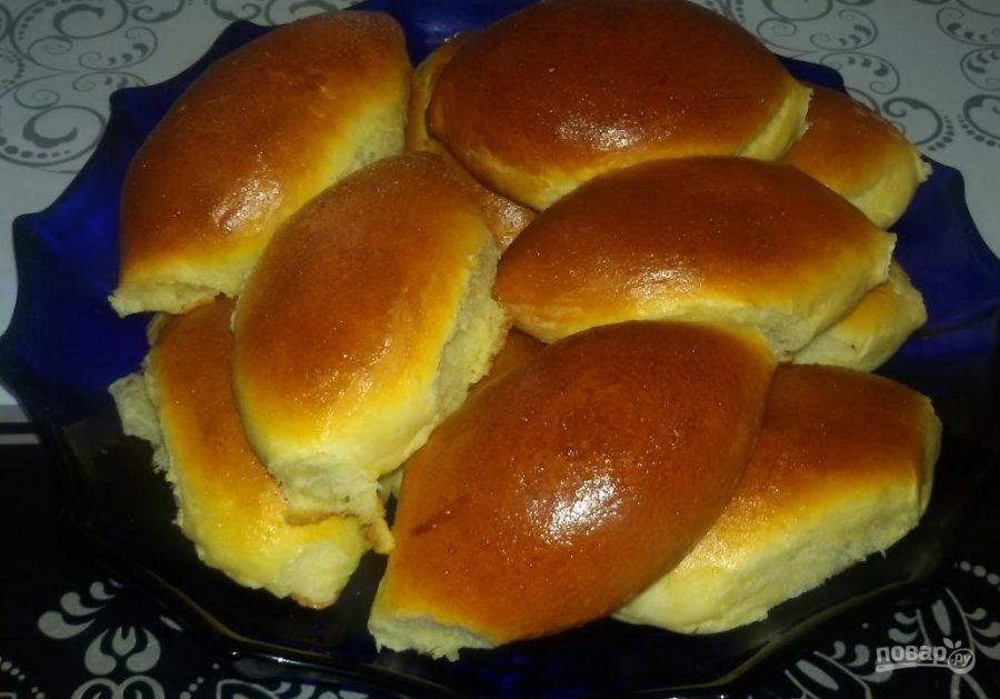 Тесто для пирожков в духовке без дрожжей