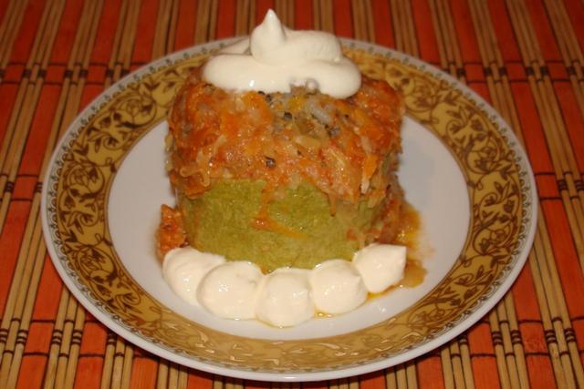 Жареные кабачки с мясом - фото шаг 8