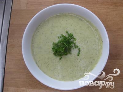 Сливочный суп с брокколи и картофелем