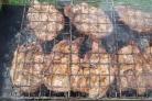 Стейк из говядины на мангале