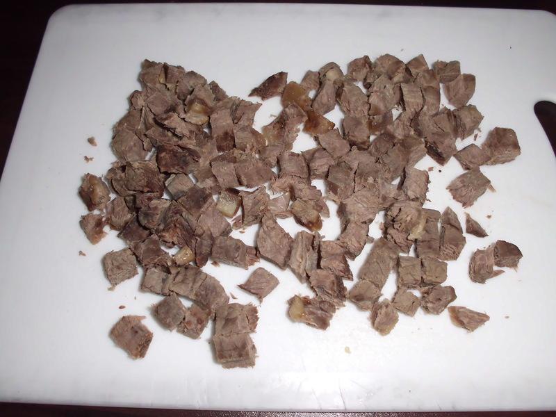 Рецепт Салат с говядиной и фасолью