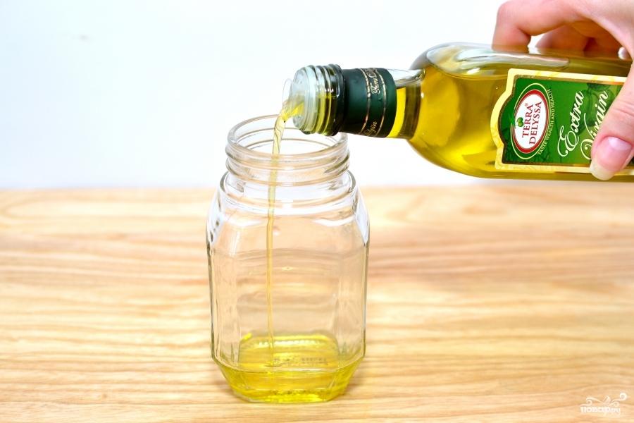Рецепт Заправка для салата с горчицей