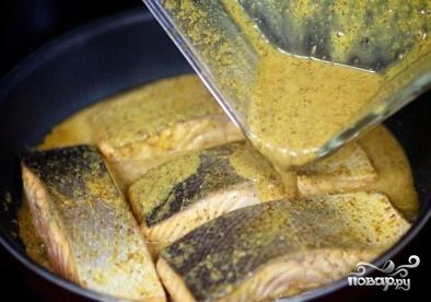Жареный лосось - фото шаг 8