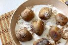 Картофель, печенный на сковороде