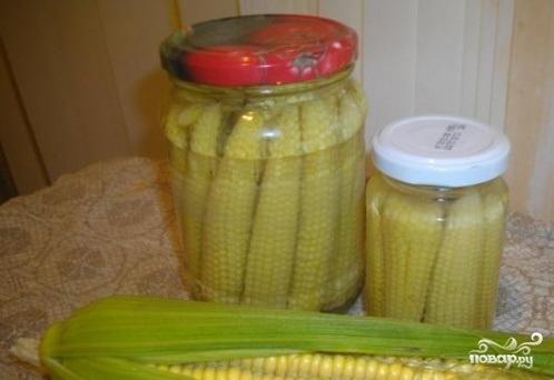 Консервирование кукурузы на зиму в домашних условиях