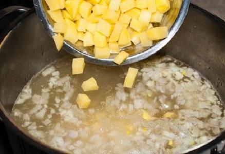 Суп с фасолью и мясом - фото шаг 5