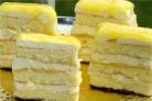 Торт лимонный