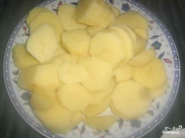 Тушеная картошка с болгарским перцем - фото шаг 4