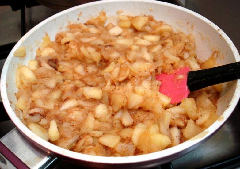 Лаваш с яблоками - фото шаг 3