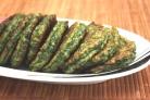Оладьи с яйцом и зеленью
