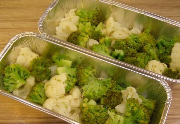 Цветная капуста и брокколи, запеченные в духовке - фото шаг 5