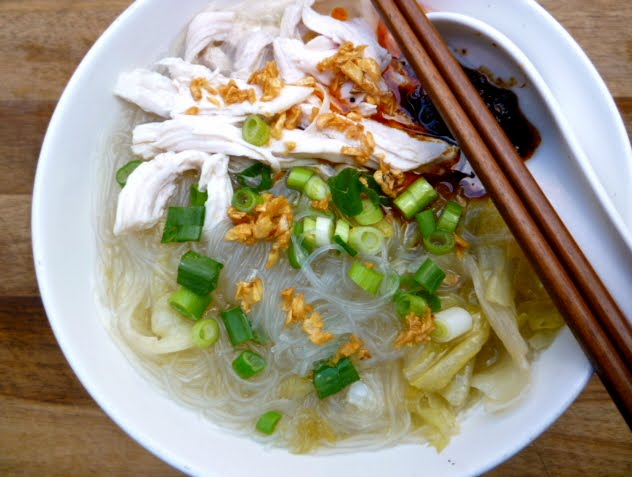 Суп с фунчозой и курицей - фото шаг 5