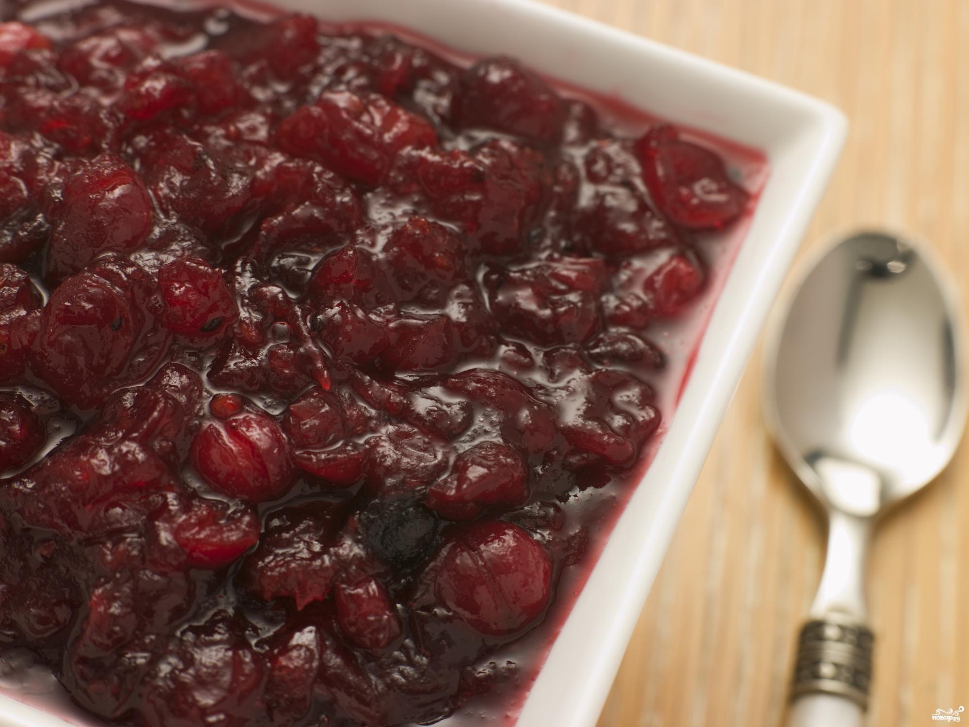 Рецепт Варенье из брусники пятиминутка