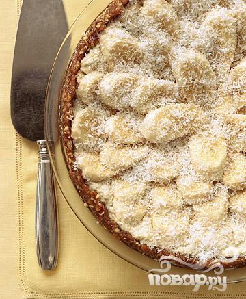 Рецепт Бананово-кокосовый десерт с кремом кешью