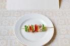Рыбная закуска на шпажках