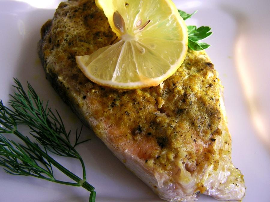 Семга в лимонной панировке - фото шаг 6