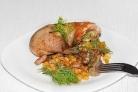 Курица с кукурузой в духовке