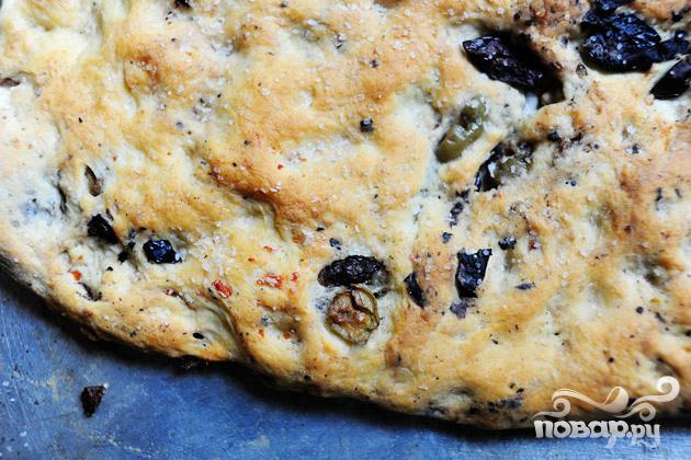 Фокачча с маслинами - фото шаг 7