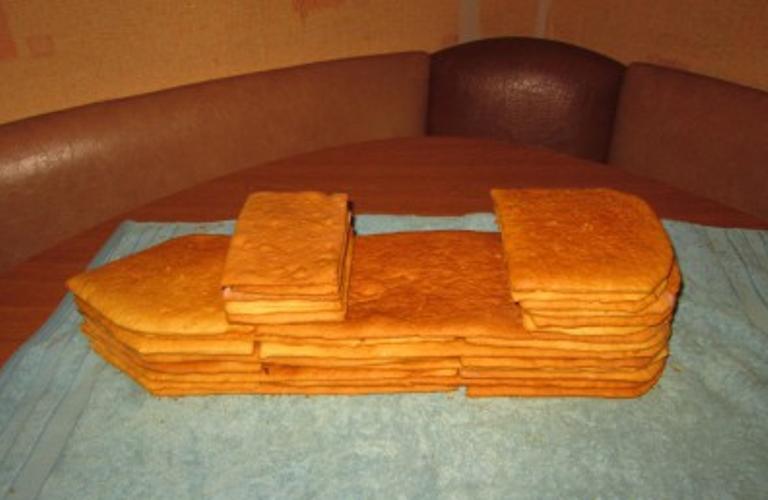 """Торт """"Корабль"""" - фото шаг 7"""