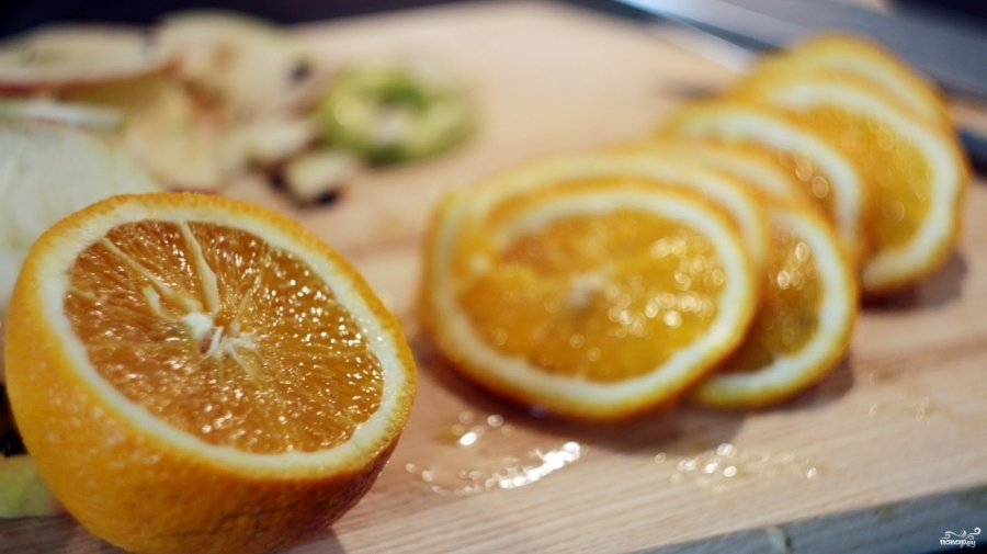 Апельсиновые чипсы рецепт пошагово