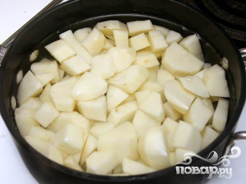 Суп с картофелем - фото шаг 3