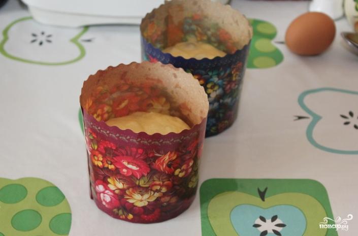 Кулич рецепт с творогом пошагово
