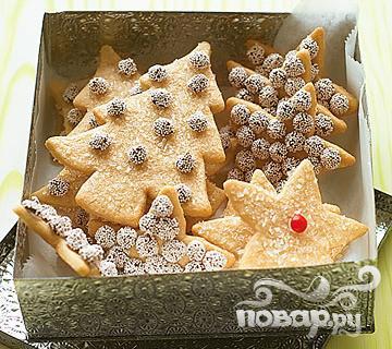 Рецепт Новогоднее печенье с корицей