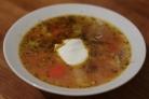 Овощной суп с орегано