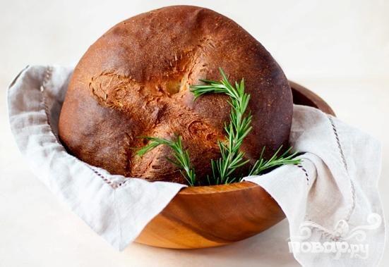 Хлеб с розмарином и медом