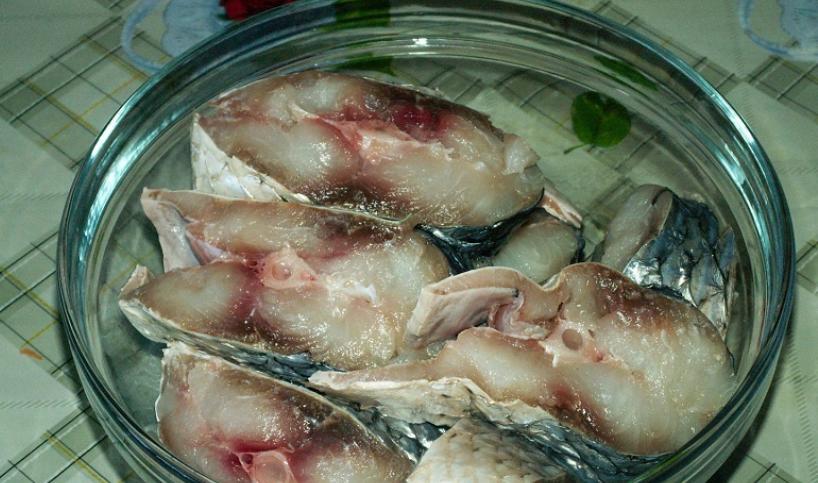 Рыба под сливочно-лимонным соусом - фото шаг 1