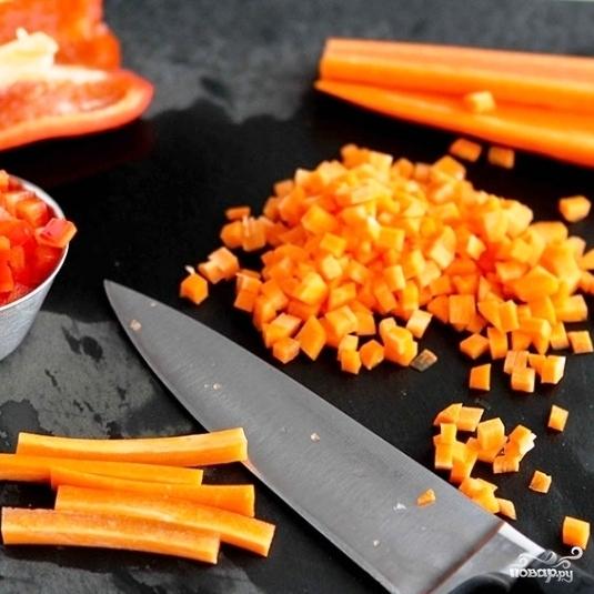 Легкий салат на ужин - фото шаг 2