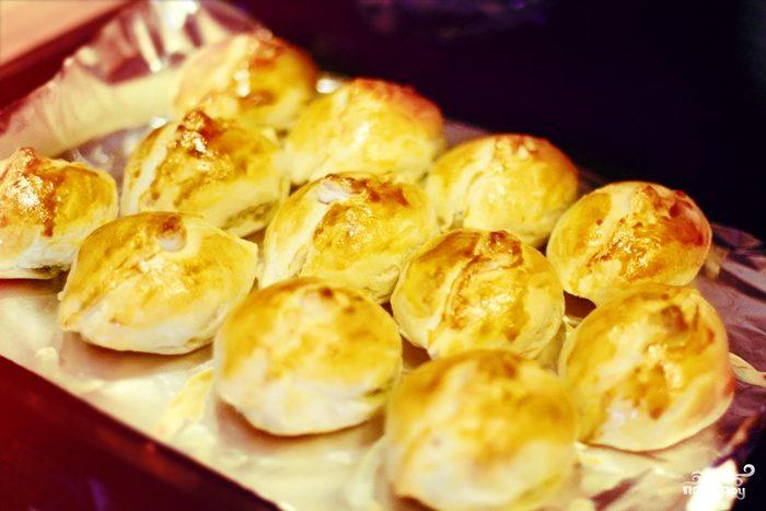 Рецепт Пирожки с картошкой и творогом