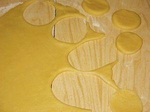 Коржики на маргарине - фото шаг 4