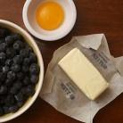 Рецепт Пирог с черникой и коричневым сахаром
