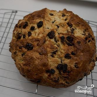 Ирландский хлеб с изюмом - фото шаг 3