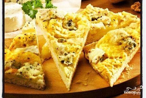 Рецепт Сырные уголки