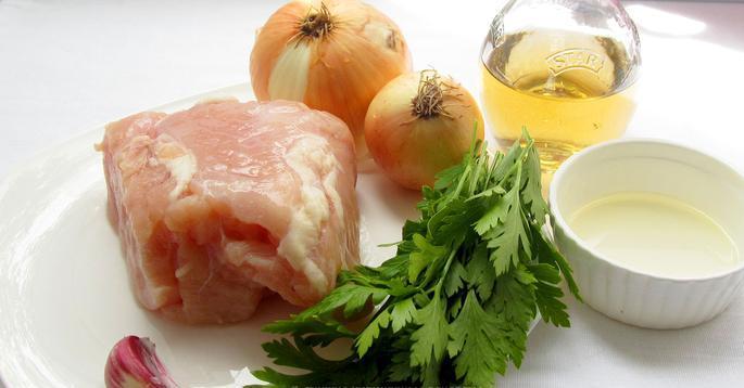 Рецепт Люля-кебаб из куриного фарша