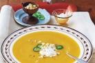 Тыквенно-яблочный суп