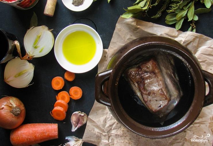Паста с мясом - фото шаг 2