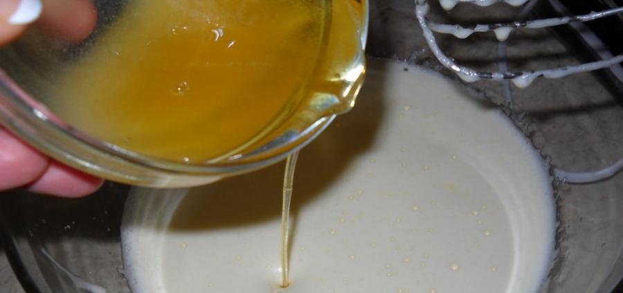 Кексики с медом - фото шаг 3