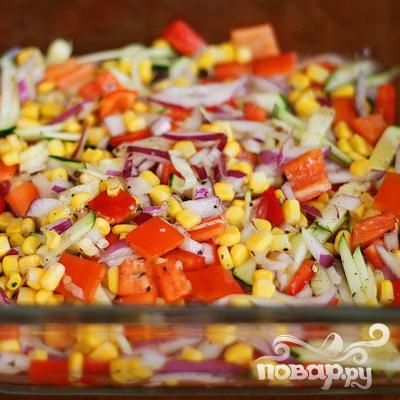 Летние жареные овощи - фото шаг 5